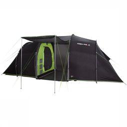 High Peak Tent Tauris 4 dark grey/Lime