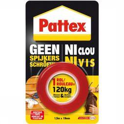 Pattex Accessory Montagetape Dubbelzijdig red