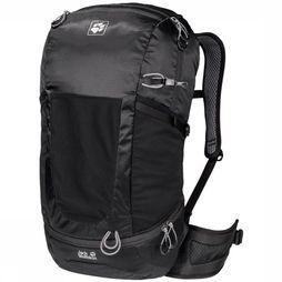 Jack Wolfskin Tourpack Kingston 30 Pack Zwart