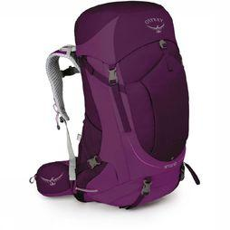 Osprey Backpack  Sirrus 50 dark purple/mid purple
