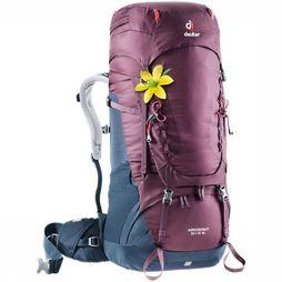Deuter Backpack Aircontact 50+10 SL Bordeaux/Marine