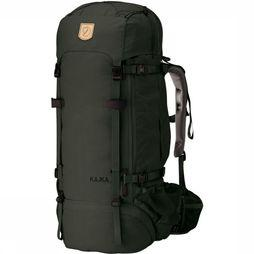 Fjällräven Backpack Kajka 75 dark green