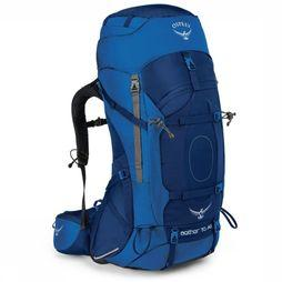 Osprey Backpack  Aether Ag 70 dark blue/mid blue
