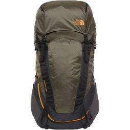 The North Face Backpack  Terra 55-65 sand/mid green