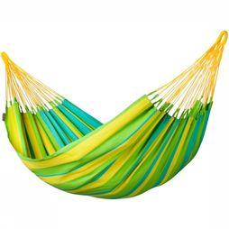 La Siesta Hangmat Sonrisa Single Lime/Groen