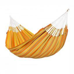 La Siesta Hamac Carolina Double Orange/Assortiment