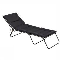 Lafuma Mobilier Camp Bed Siesta Air Comfort black
