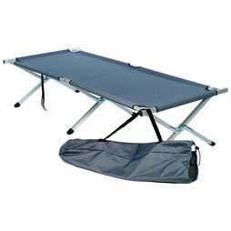 Transfilco Camp Bed Scouts Aluminum mid grey