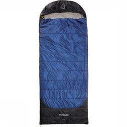 Nordisk Sleeping Bag Puk +10° Blanket Extra Large dark blue/black