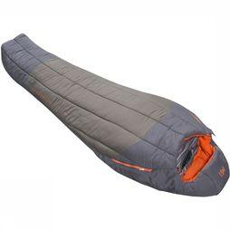 Millet Sleeping Bag Syntek 0°C Regular dark grey/mid red