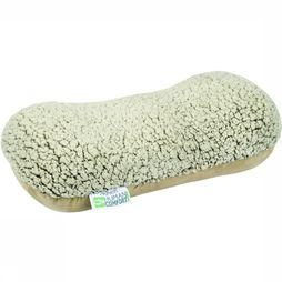 Human Comfort Reiskussens Sheep Fleece Memory Foam Gebroken Wit
