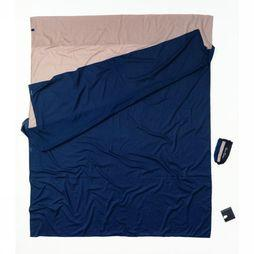 Cocoon Lakenzak Travelsheet Double Egyptian Cotton Middenkaki