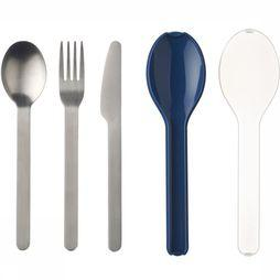 Mepal Cutlery Set Ellipse (3pcs) Marine