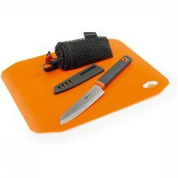 GSI Outdoors Diverse Santoku Cut + Prep Set Geen kleur