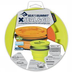 Sea To Summit Gobelet X-Seal And Go Set Small Lime