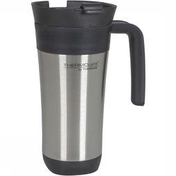 Thermos Isolation Bottle Travel Mug 425 Ml silver/black