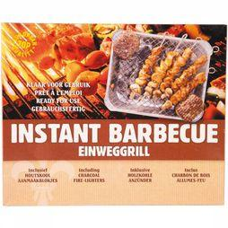 Lily Kookvuur Barbecue Instant Grill Complete Set Zilver