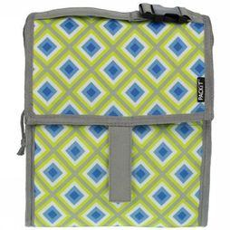 Packit Koeltas Freezable Lunch Bag Lichtgroen/Middenblauw