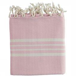 Lalay Miscellaneous Picnic Blanket mid pink