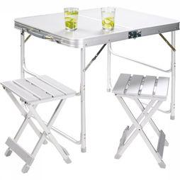 Tafel Alu Table Set For 2