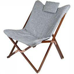 Bo-Camp Relax Chair Urban Outdoor Bloomsbury mid grey