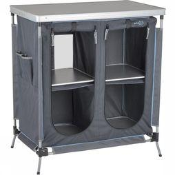 Bo-Camp Kookkast Rapid 80X47X84 Cm dark grey/silver