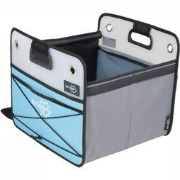 Bo-Camp Accessory Opbergbox Smart Medium Opvouwbaar 33X36X31 Cm light grey/light blue