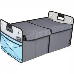Bo-Camp Accessory Opbergbox Smart Large Opvouwbaar 60X36X31 Cm light grey/light blue