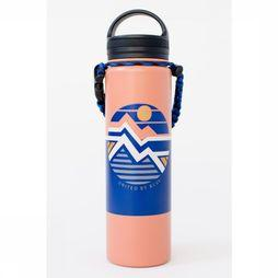 United by Blue Drinkfles Field Guide 22Oz Stainless Steel  Oranje/Middenblauw
