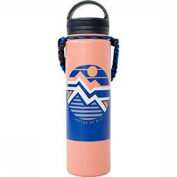 United by Blue Drink Bottle Field Guide 22Oz Stainless Steel orange/mid blue