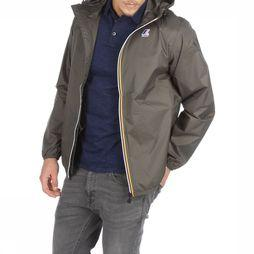 K-Way Coat Le Vrai 3,0 Claude dark khaki