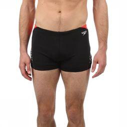 Speedo Aquashorts Endurance Boom Splice black/red