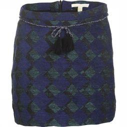 Brian + Nephew Skirt Lalla dark blue/mid green