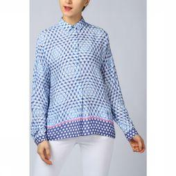 Emily Van Den Bergh Shirt 5500-143590 light blue/dark blue