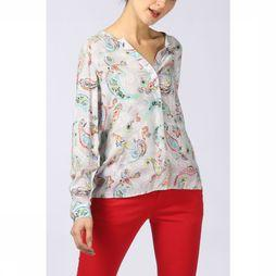 Emily Van Den Bergh Shirt 5746-143801 Light Grey Mixture/Assortment Flower
