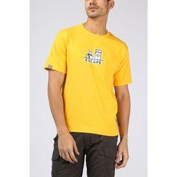 UAX T-Shirt Escape mid yellow