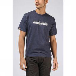 UAX T-Shirt Bikerace dark blue