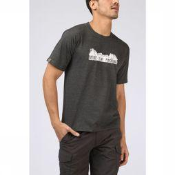 UAX T-Shirt Nature Playground dark grey