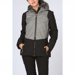 Luhta Coat Beeda Jacket black/light grey