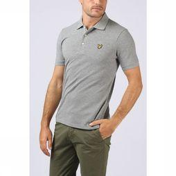 Lyle & Scott Polo 1802-Sp400Vb Light Grey Mixture