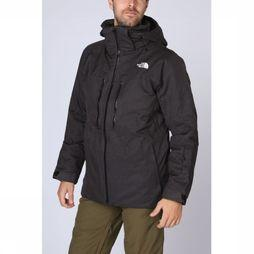 The North Face Manteau Chakal Gris Foncé Mélange