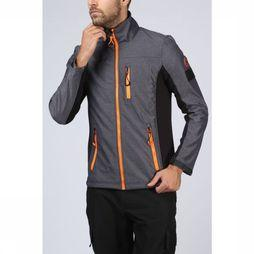 Superdry Softshell Flex 360 Bonded Track dark grey