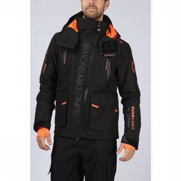 Superdry Coat Ultimate Snow Rescue black