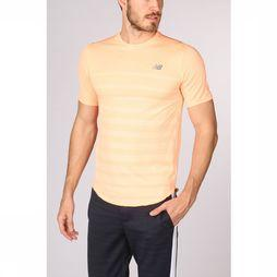 New Balance T-Shirt Q Speed Orange