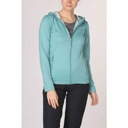 Ayacucho Fleece Green Lake Tencel Hoody Lichtblauw