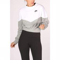 Nike Pullover Nike Sportswear Dark Grey Mixture/White