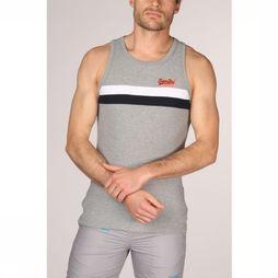 Superdry Top  Tri Colour Lichtgrijs Mengeling