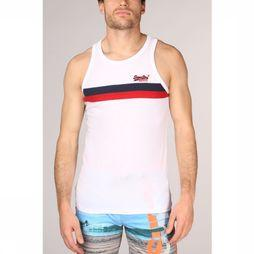 Superdry Top  Tri Colour Wit