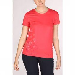 CMP T-Shirt Wmn Outdoor Flower Lichtrood