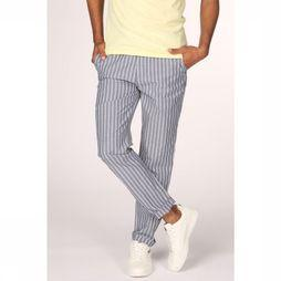 Scotch & Soda Trousers 148901 mid grey/white